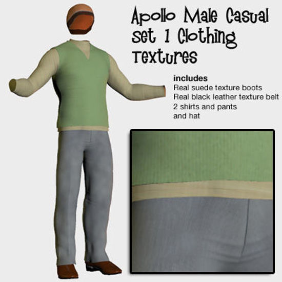 Picture of Apollo Casual Set 1 Clothing Textures
