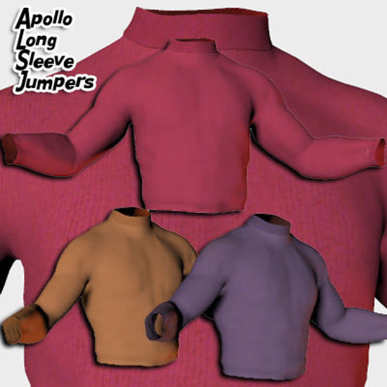 Picture of Apollo Long Sleeve Jumper Shirt Textures