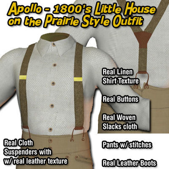 Picture of Apollo 1800's - Little House on the Prairie Style Outfit