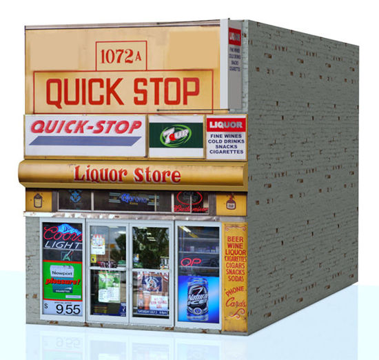 Picture of Quick Stop Store Building Model
