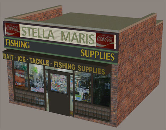 Picture of Bait Store Building Model