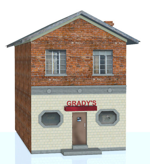 Picture of Small Town Bar / Pub Building Model