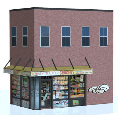 Picture of Bodega Store Building Model