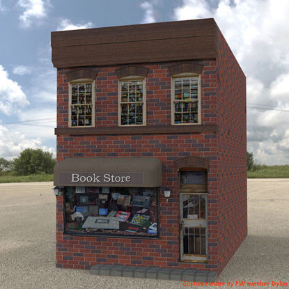 Picture of Bookstore Building Model