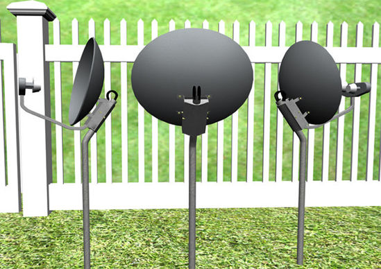 Picture of Satellite TV Dish Antenna Models