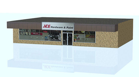 Picture of Hardware Store Building Model