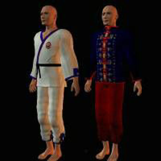 Picture of Georgia Man, Karate, Latin Man and Male Robe - malerobe