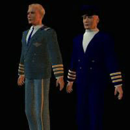 Picture of Aircraft Interior, Captains, Foyer and Romeo - captains