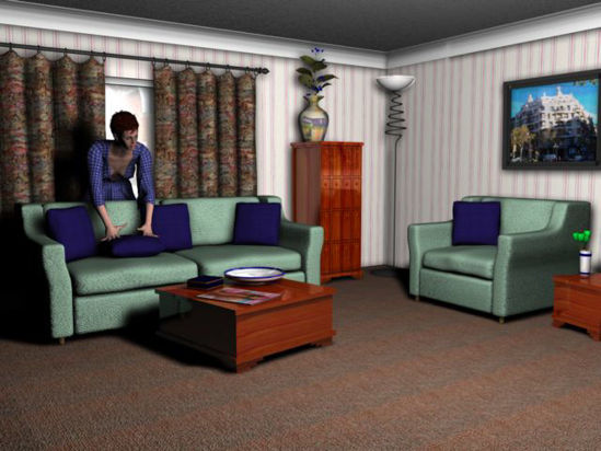 Picture of Kitchen, Lounge, Lounge 2 and Park Center Scenes - lounge