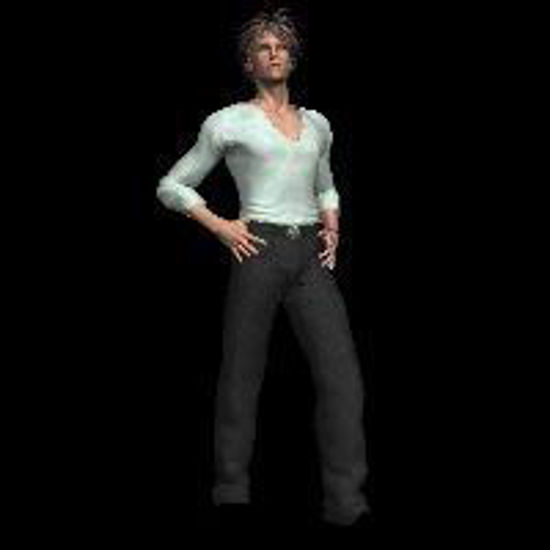 Picture of Fashion Model for David (Poser / DAZ 3D David)