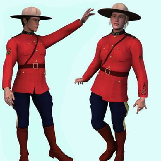 Picture of Davids,Royal Canadian Mounted Police - rcmptextures