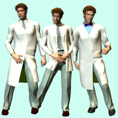 Picture of Labcoat - male-David