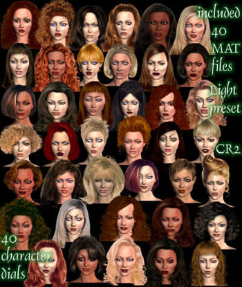 Picture of 40 Fairywoods Faces