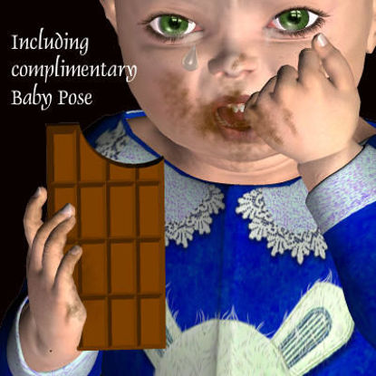 Picture of Baby Chocolate bar - BabyPoseFIXED