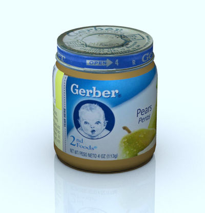 Picture of Baby Food Jar Model