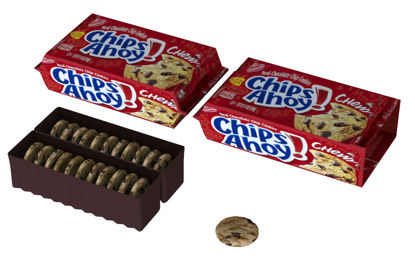 Picture of Chocolate Chip Cookies and Bag Models