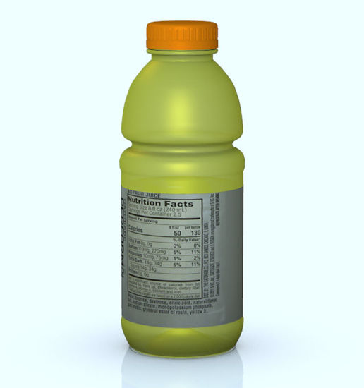 Picture of Thirst Quencher Bottle Model - Poser and DAZ Studio