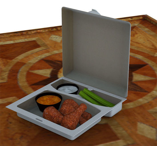Picture of Buffalo Hot Wings Food Model Set