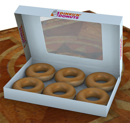 Picture of Donut Food Models and Box Model