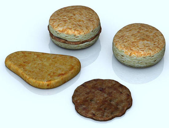 Picture of Breakfast Food Models Set 2