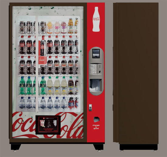 Picture of Drink Vending Machine Model