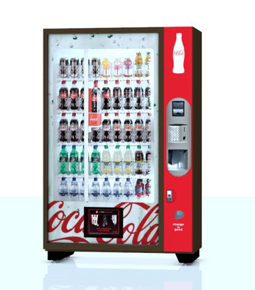 Picture of Double Vending Machine Model