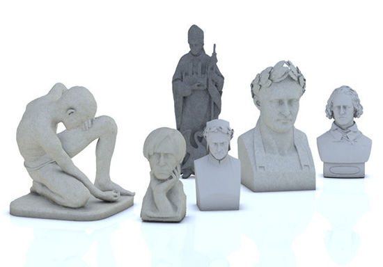 Picture of Fine Art Models Set 2