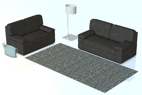 Picture of Modern Furnishings Furniture Set - Poser and DAZ Studio Format