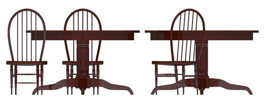Picture of Saloon Tables and Chair Models