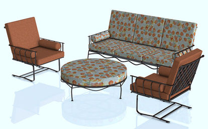 Picture of Upscale Patio Furniture Models - Poser and DAZ Studio Format