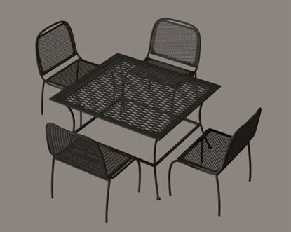 Picture of Wrought Iron Patio Furniture Props