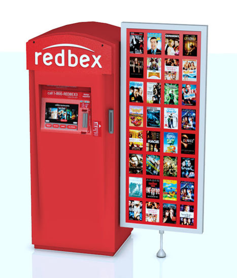 Picture of Movie Vending Machine Model