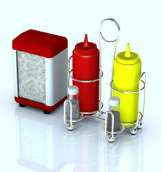Restaurant / Diner Holders and Condiments
