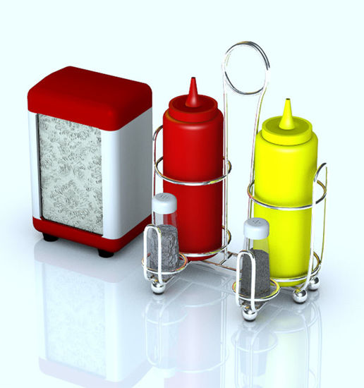 Picture of Restaurant / Diner Holders and Condiments