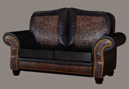 Picture of Leather Couch Model