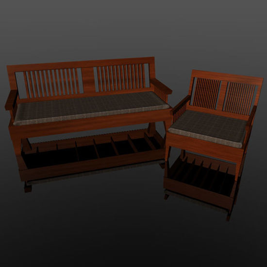 Picture of Couch and Chair Props