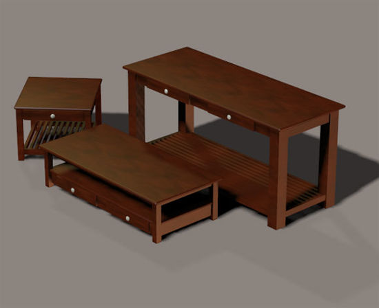 Picture of Three Piece Den Furniture Prop Set