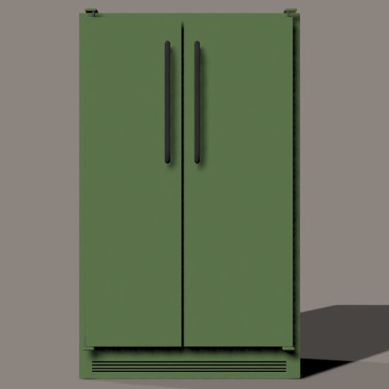Picture of Side by Side Refrigerator Freezer Prop