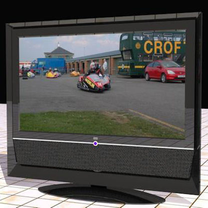 Picture of An LCD TV