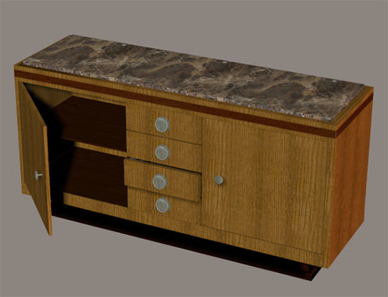 Picture of Art Deco Cabinet Model