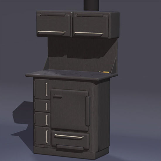 Picture of Wood Burning Stove Prop