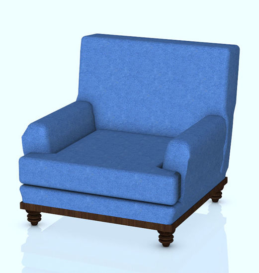 Picture of Comfortable Den Chair Prop