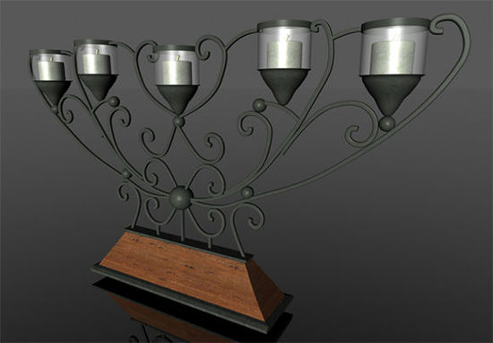 Picture of Modern Candelabra Housewares Model