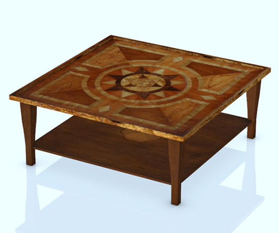 Picture of Low Den Table Furniture Model