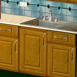 Holiday Cottage: Sink unit