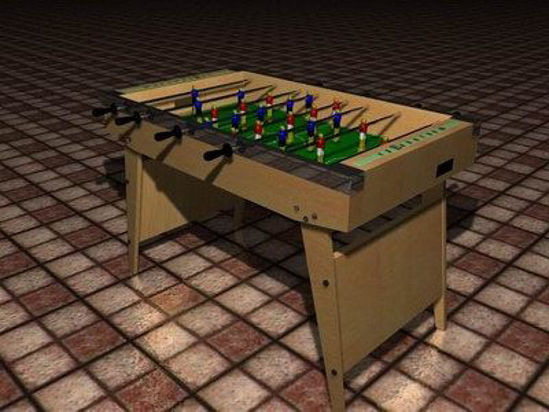 Picture of Table football set or Foosball