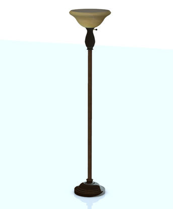 Picture of Contemporary Torchiere Lamp Furniture Model