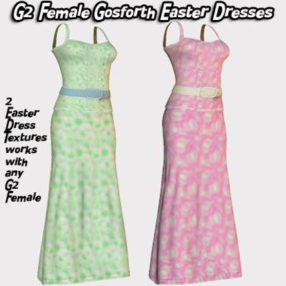 Picture of Gosforth Easter Dress Textures for G2 Females