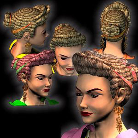Picture of Roman Female Hair 1