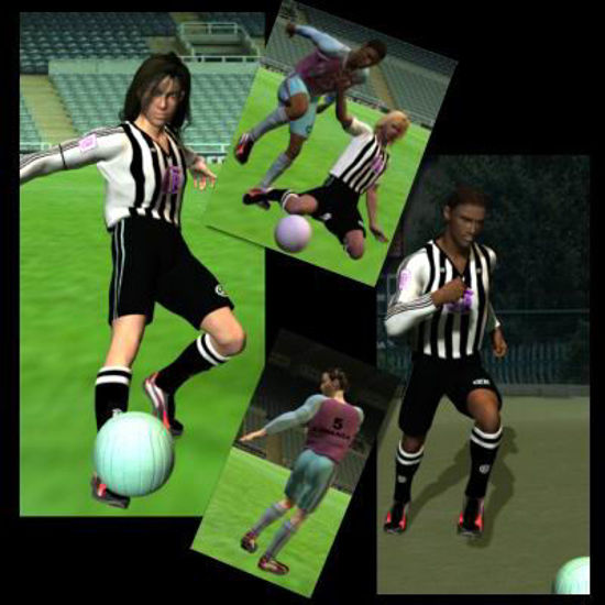 Picture of Football Uniform for Hiro - Poser / DAZ 3D Hiro
